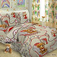 Детская постельная ткань бязь ш.150 Дружок