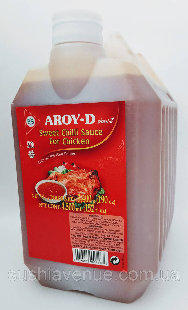 """Соус """"Sweet Chilli Sauce for chicken"""" 4,3л"""