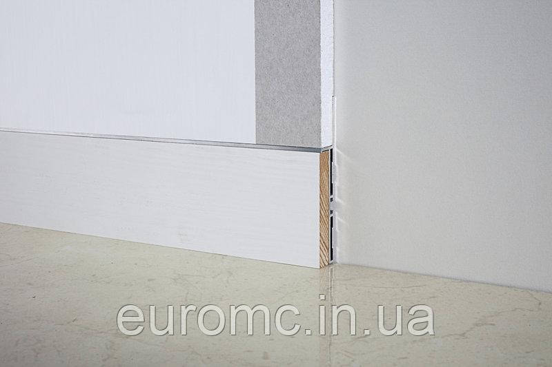 Плинтус скрытого монтажа 10х70мм