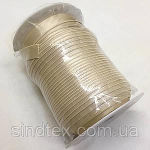 Резинка для бретель, 1,5см - ТЕМНЫЙ БЕЖ (бобина 46м.)