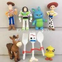 Фигурки героев мультфильма История игрушек 7 штук