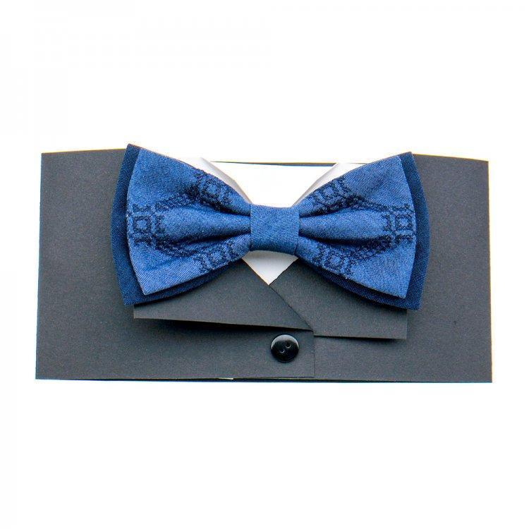Вышитая Синяя Бабочка №826 Lm-3069