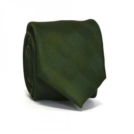 Краватка C&a Вузький Зелений Ca-3051, фото 2