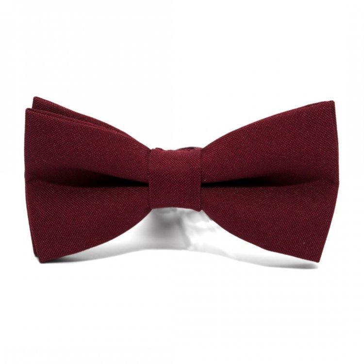 Краватка Метелик Бордова Gbz-207