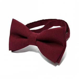 Краватка Метелик Бордова Gbz-207, фото 2