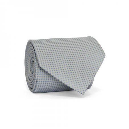 Краватка Чоловічий Білий В Блакитні Точки Gin-2179, фото 2