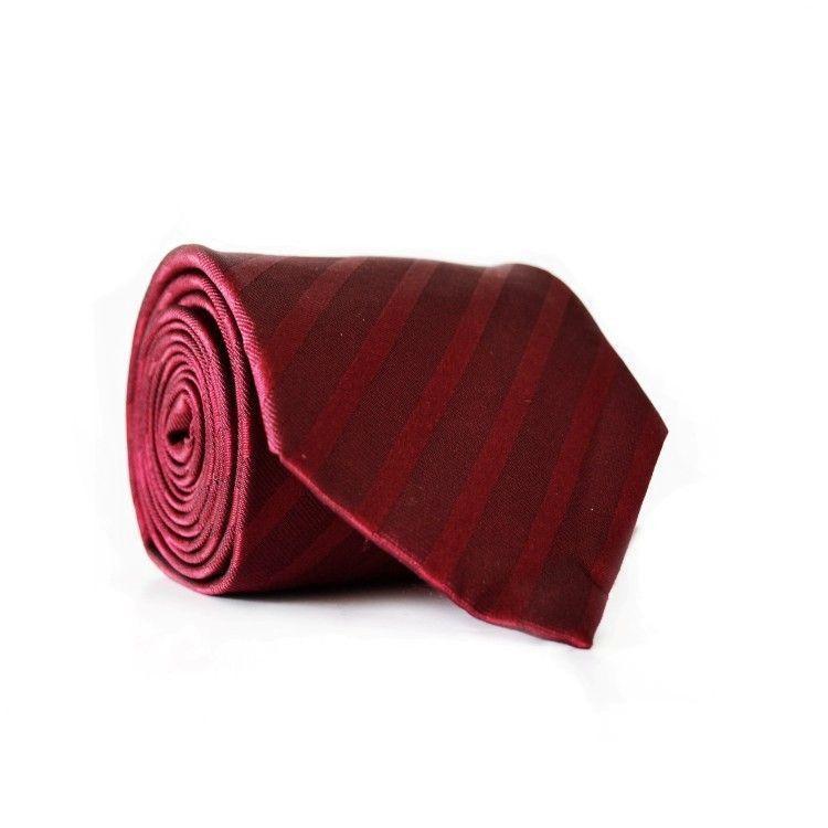 Краватка Чоловічий Бордовий Gin-2045