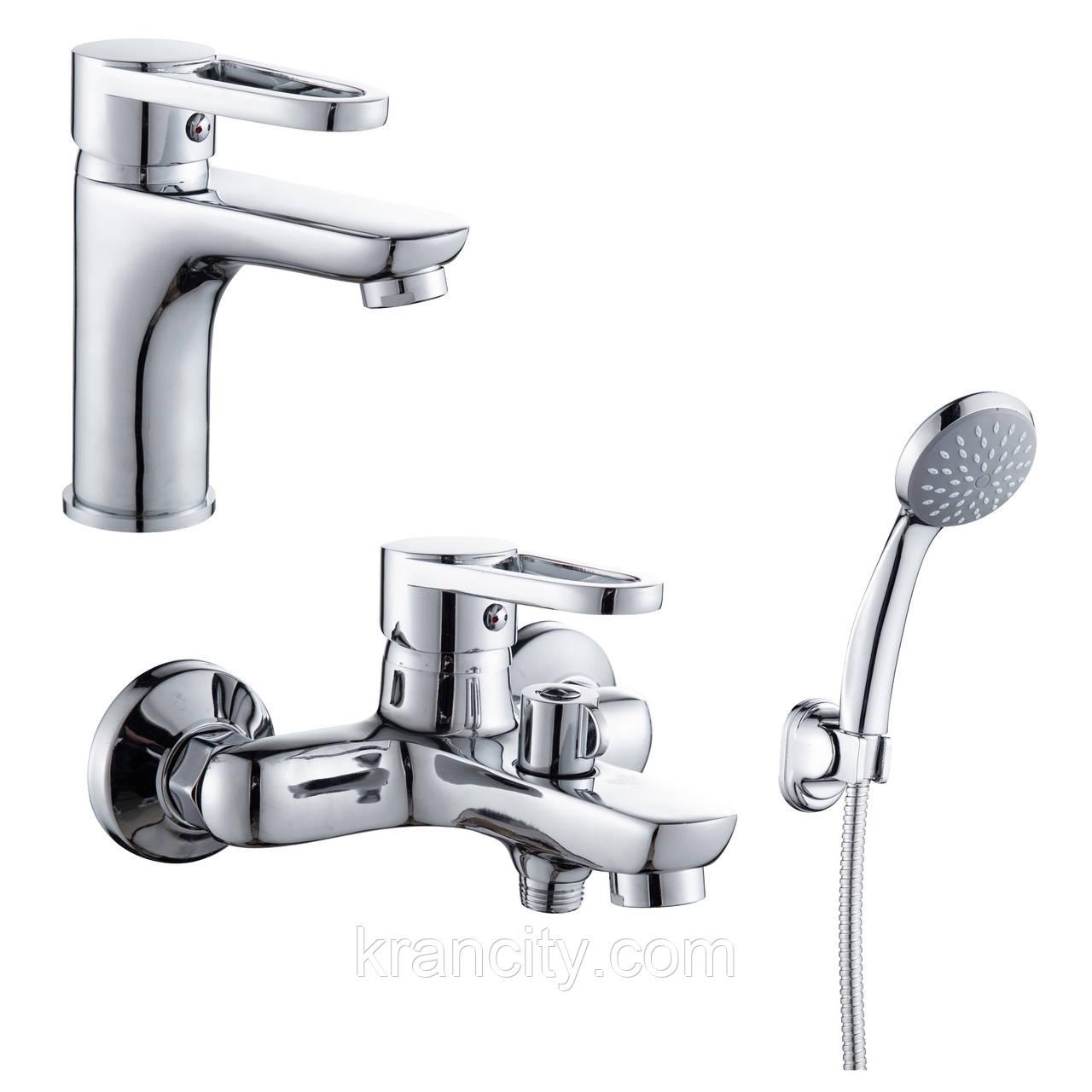 Набір змішувачів для ванни одноважільні (RBZZ003-1,RBZZ003-3) ROZZY JENORI KINK ZZ003-1-3