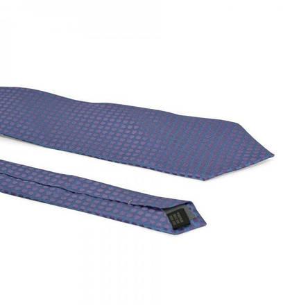 Галстук Мужской Синий В Фиолетовые Точки Gin-2172, фото 2