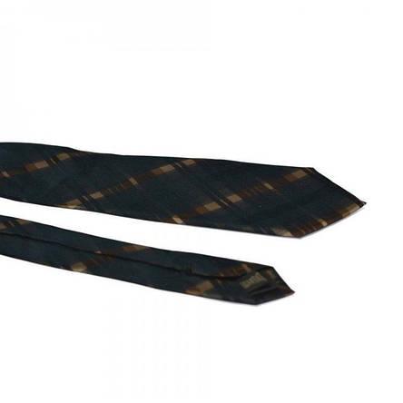 Краватка Чоловічий Синій Коричневий З Відтінком Gin-2156, фото 2