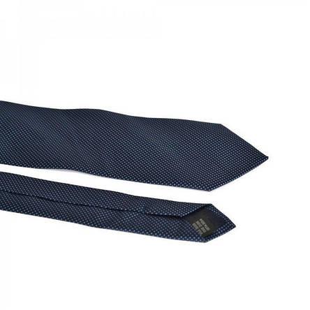Краватка Чоловічий Синій З Блакитними Рисками Gin-2219, фото 2