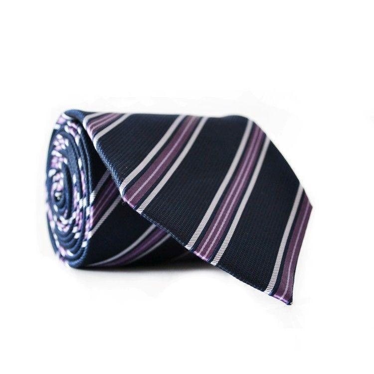 Краватка Чоловічий Синій Фіолетовий Gin-2126
