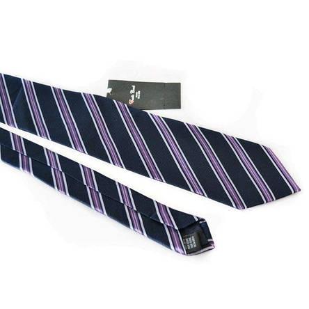 Краватка Чоловічий Синій Фіолетовий Gin-2126, фото 2
