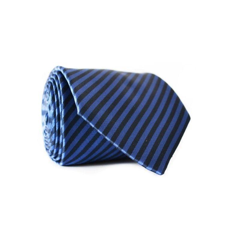 Краватка Чоловічий Синій Чорний Gin-2128