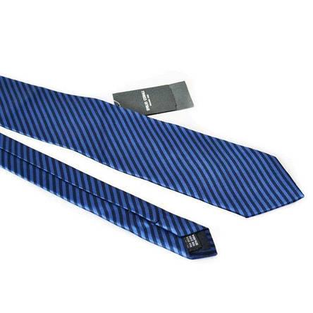 Краватка Чоловічий Синій Чорний Gin-2128, фото 2