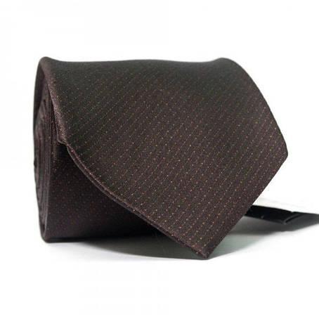 Краватка Чоловічий Темно-Кориневый Gin-2436, фото 2