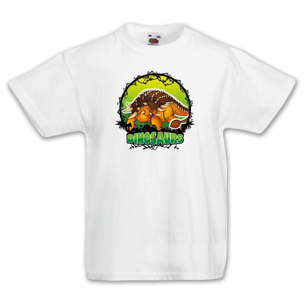 """Футболка детская с динозавром  """"Анкилозавр"""""""