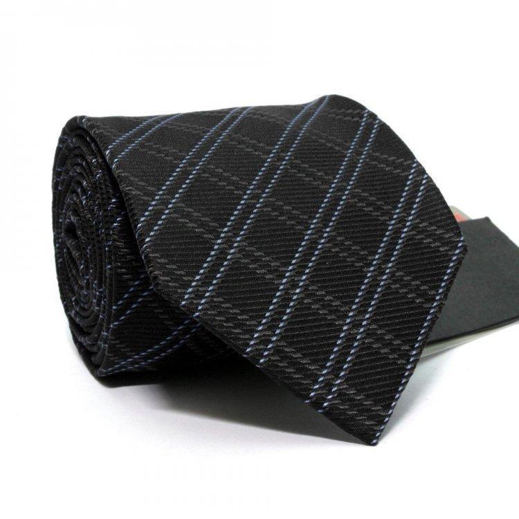 Краватка Чоловічий Чорний В Клітку Gin-2469