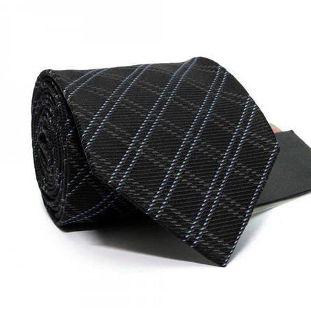 Краватка Чоловічий Чорний В Клітку Gin-2469, фото 2