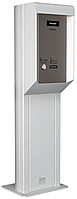 Въездная парковочная стойка LOT, картоприёмник на 500 карт, с модулем нагрева