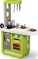 Интерактивная детская кухня со звуковыми эффектами Cherry Smoby Tefal зеленая 310909, фото 1