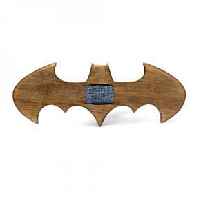 Дерев'яна Краватка Метелик Темна Бетмен Gbdh-8092, фото 2