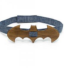 Дерев'яна Краватка Метелик Темна Бетмен Gbdh-8092, фото 3