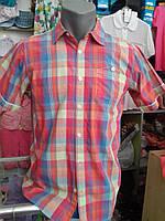 Рубашка с коротким рукавом для мальчика, подростковая
