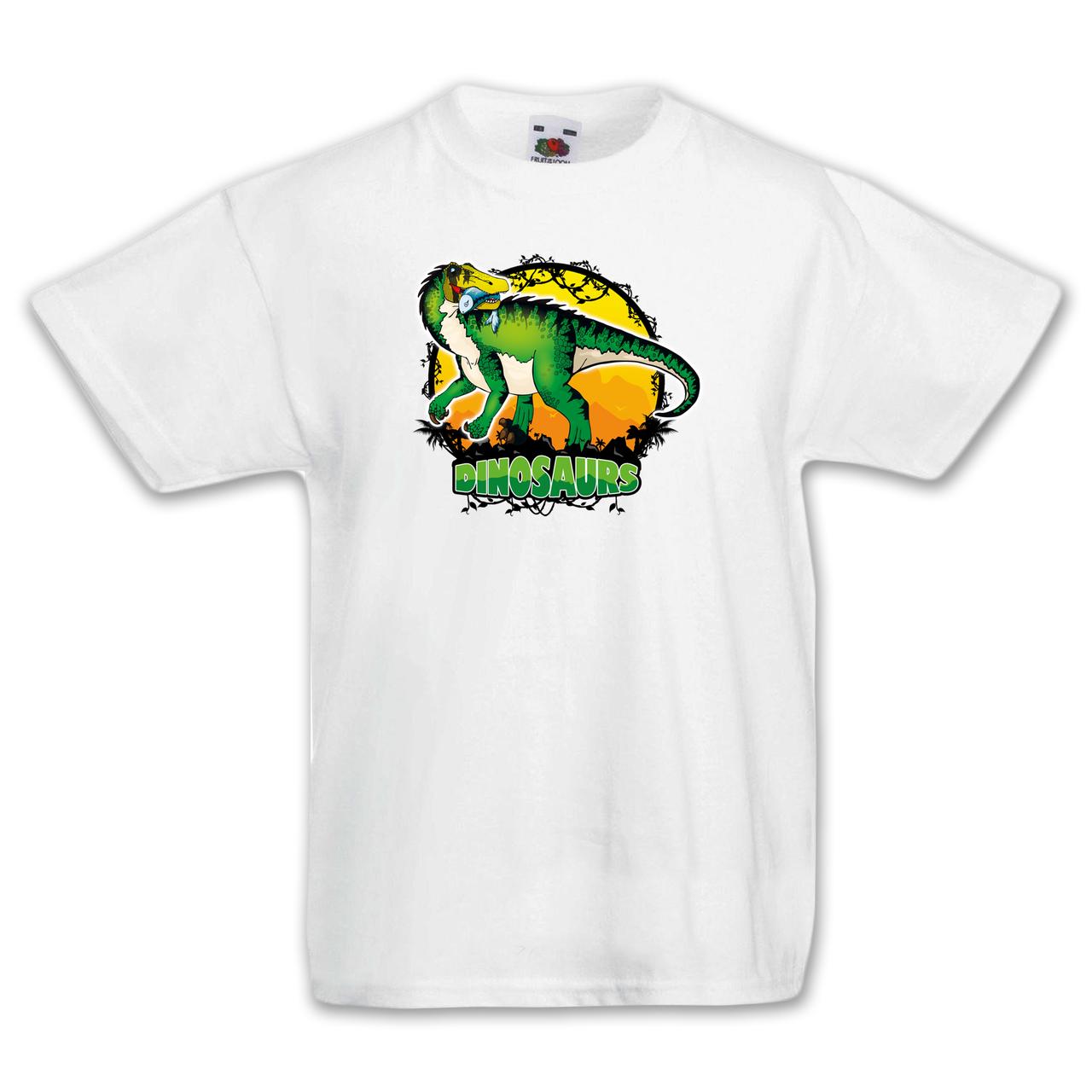 """Футболка детская с динозавром  """"Барионикс"""""""