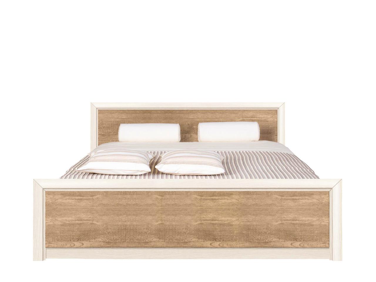 """Ліжко 140*200 """"Коен 2"""" від БРВ (сосна каньйон / дуб корабельний)"""