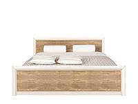 """Ліжко 140*200 """"Коен 2"""" від БРВ (сосна каньйон / дуб корабельний), фото 1"""