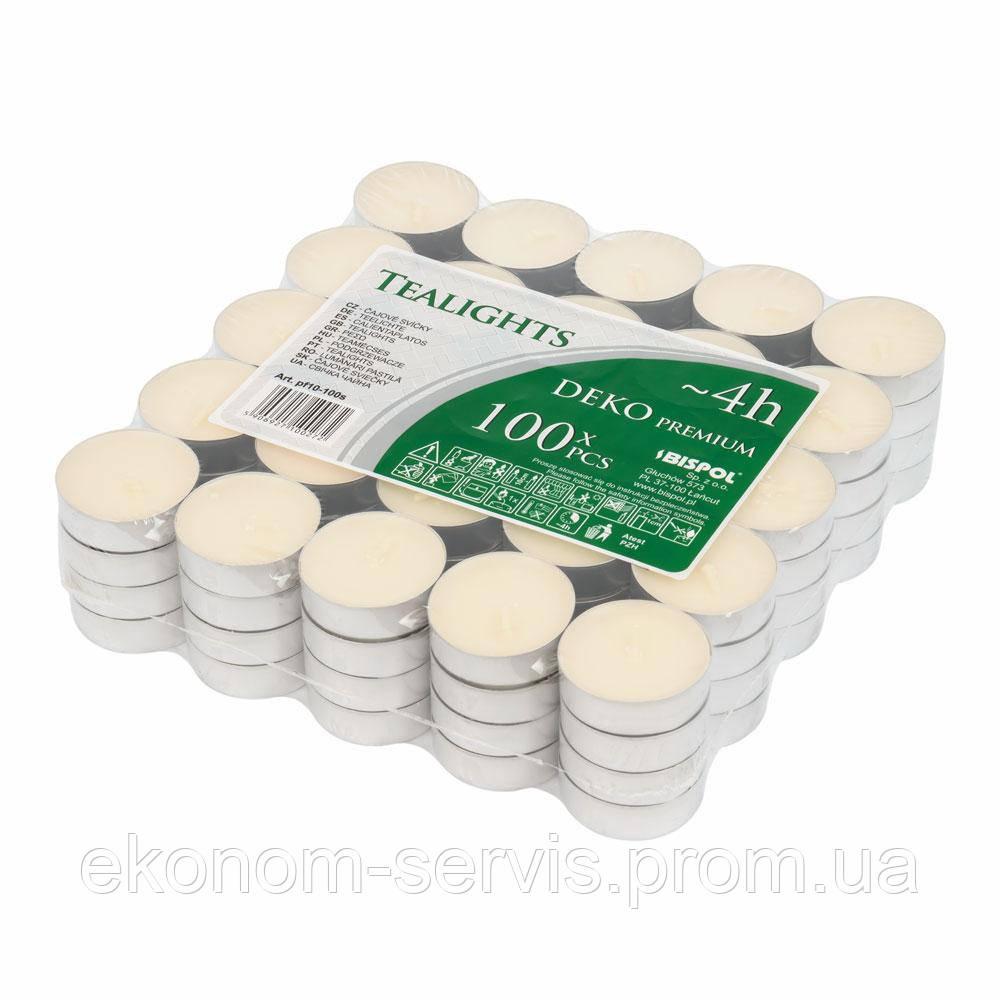 Свеча таблетка Deco premium (упаковка 100шт.)