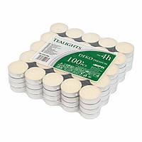 Свічка таблетка Deco premium (упаковка 100шт.)