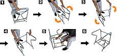 Подставка с поручнями для биотуалета, туалета на кемпинг, фото 3