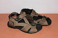 Сандалии кожаные мужские 40,41,42,45 р  коричневые.