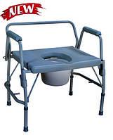 Стул-туалет (для людей с избыточным весом)