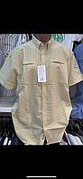 Стильные летние турецкие хлопковые Рубашки для мужчин, фото 1