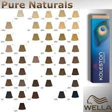 Чистые натуральные тона Wella Koleston