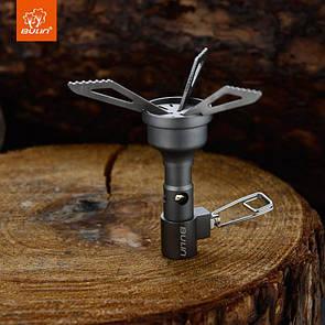 Туристична газова пальник BULIN BL100-10T з титану. Туристичний газовий пальник.