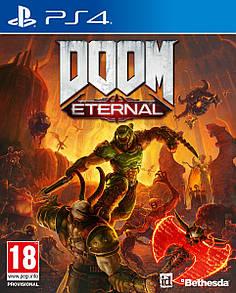Диск PlayStation 4  DOOM ETERNAL