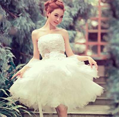 d8995a4d0 Короткое свадебное платье - пышная юбка - интернет магазин Eli-stor в  Бердянске