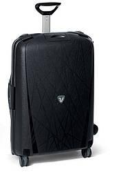 Большой пластиковый чемодан Roncato Light на 4 колесах