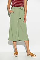 Укороченные расклешенные брюки летние, фото 1