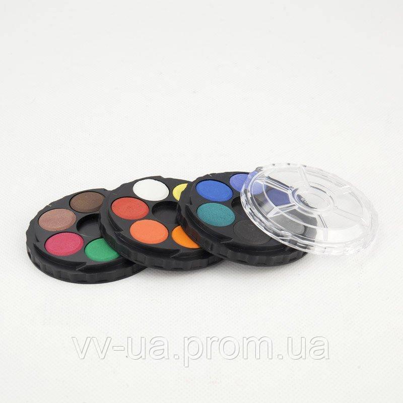 Краски акварельные Koh-i-Noor, круглая пласт. упаковка, б/к, 18 цв. (171505)