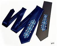 """Детский галстук с вышивкой """"Тихон"""""""