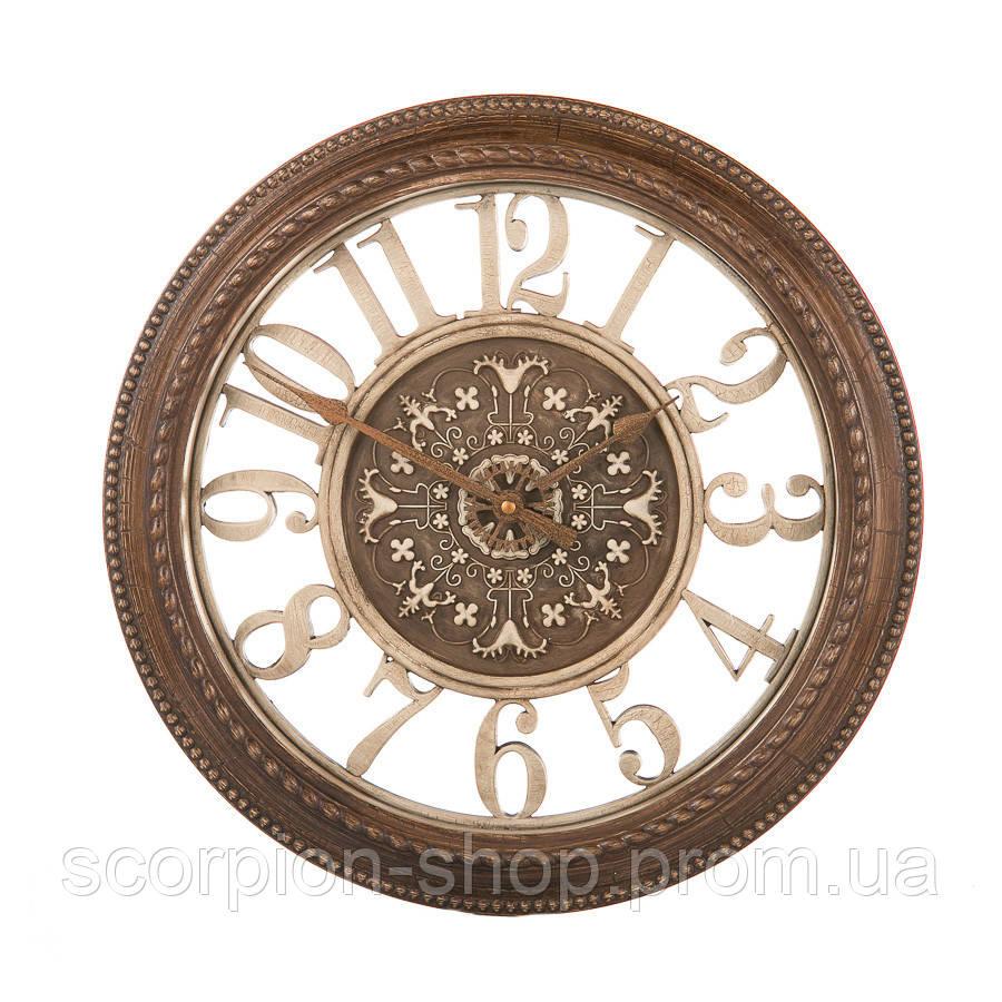 Настенные часы (Ø 40,6 см) ажурные (105A)