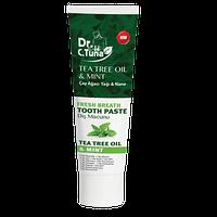 Зубная паста с маслом чайного дерева и мятой Dr.Tuna Farmasi