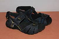 Сандалии кожаные мужские 40,41,44,45 р синие арт 5622