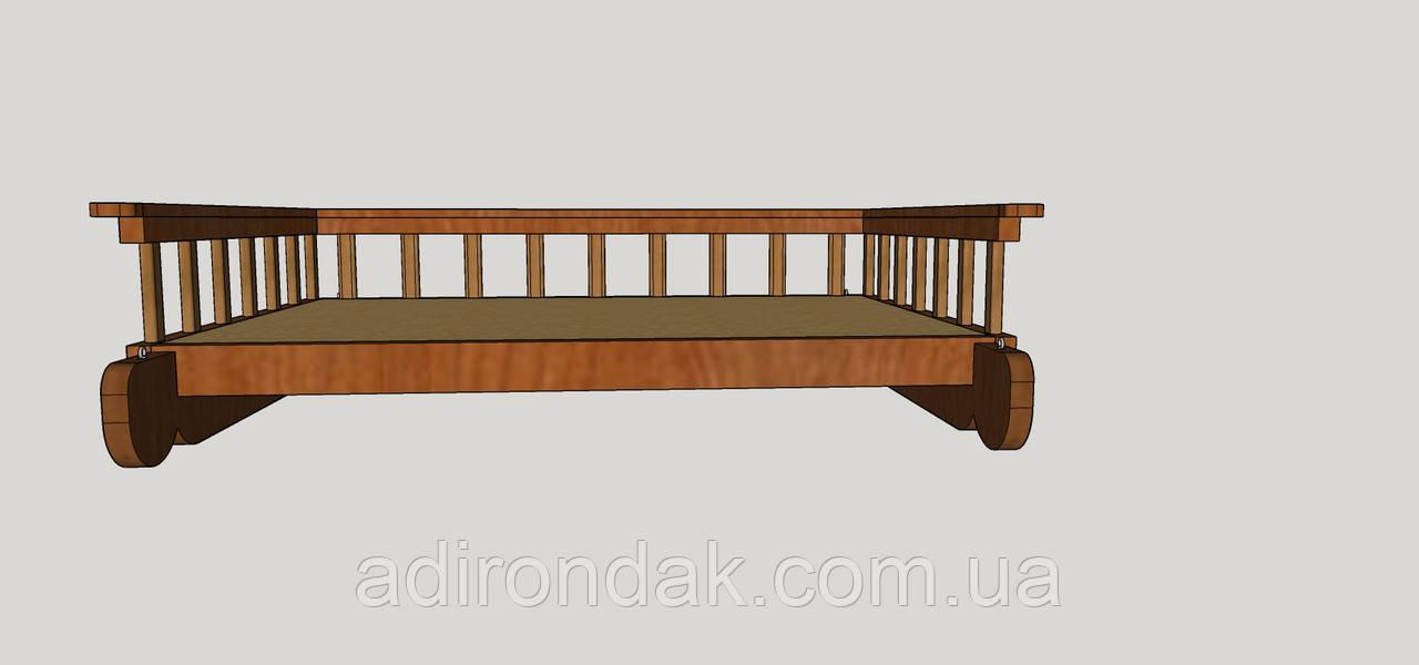 Ліжко на підвіс R2 (проект)
