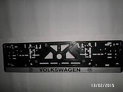 Рамка номерного знака  с логотипом(все автомобили)